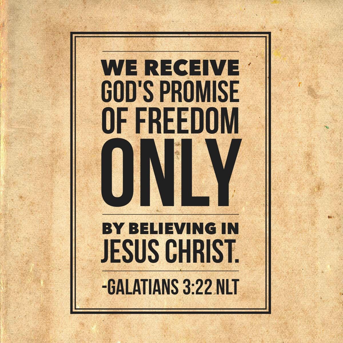 Galatians 3-22