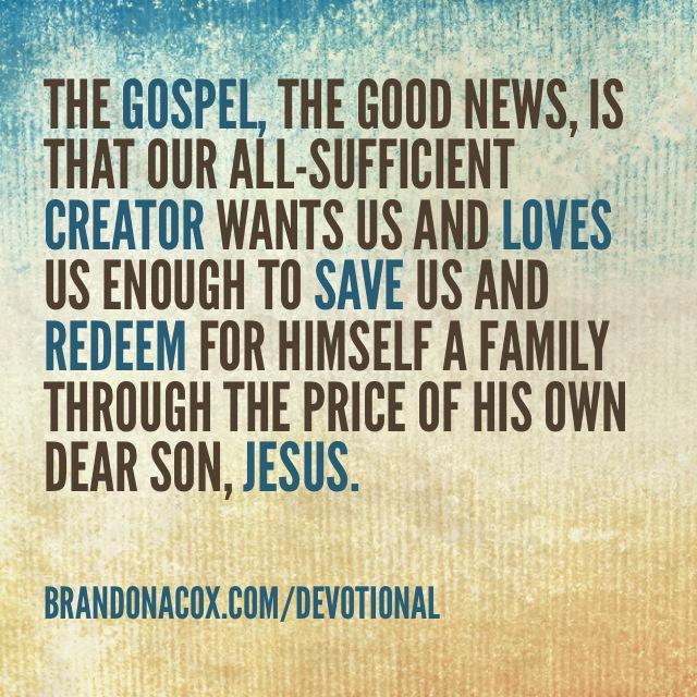 To Understand the Gospel, First Understand God