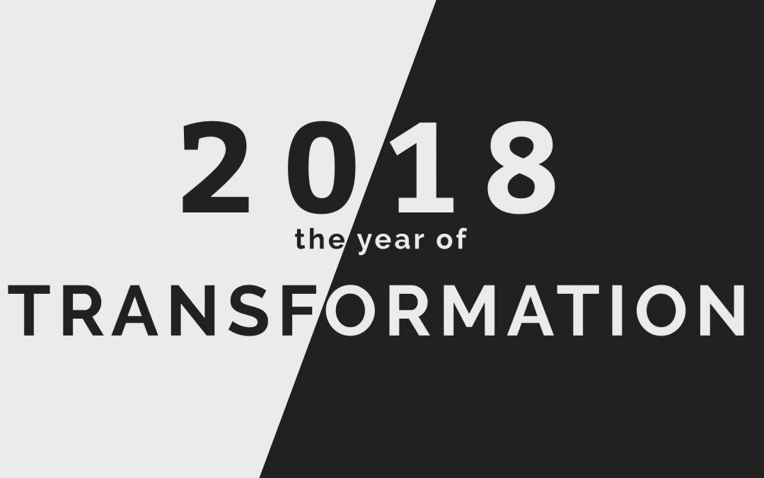 Sermon Series: The Year of Transformation