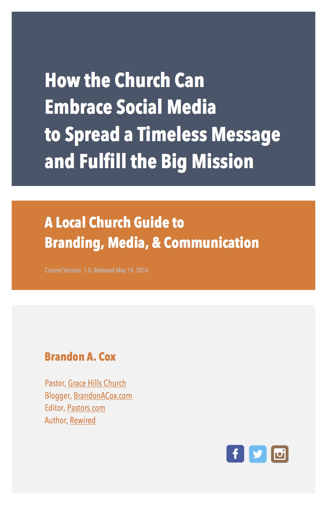 Free Ebook on Church and Social Media