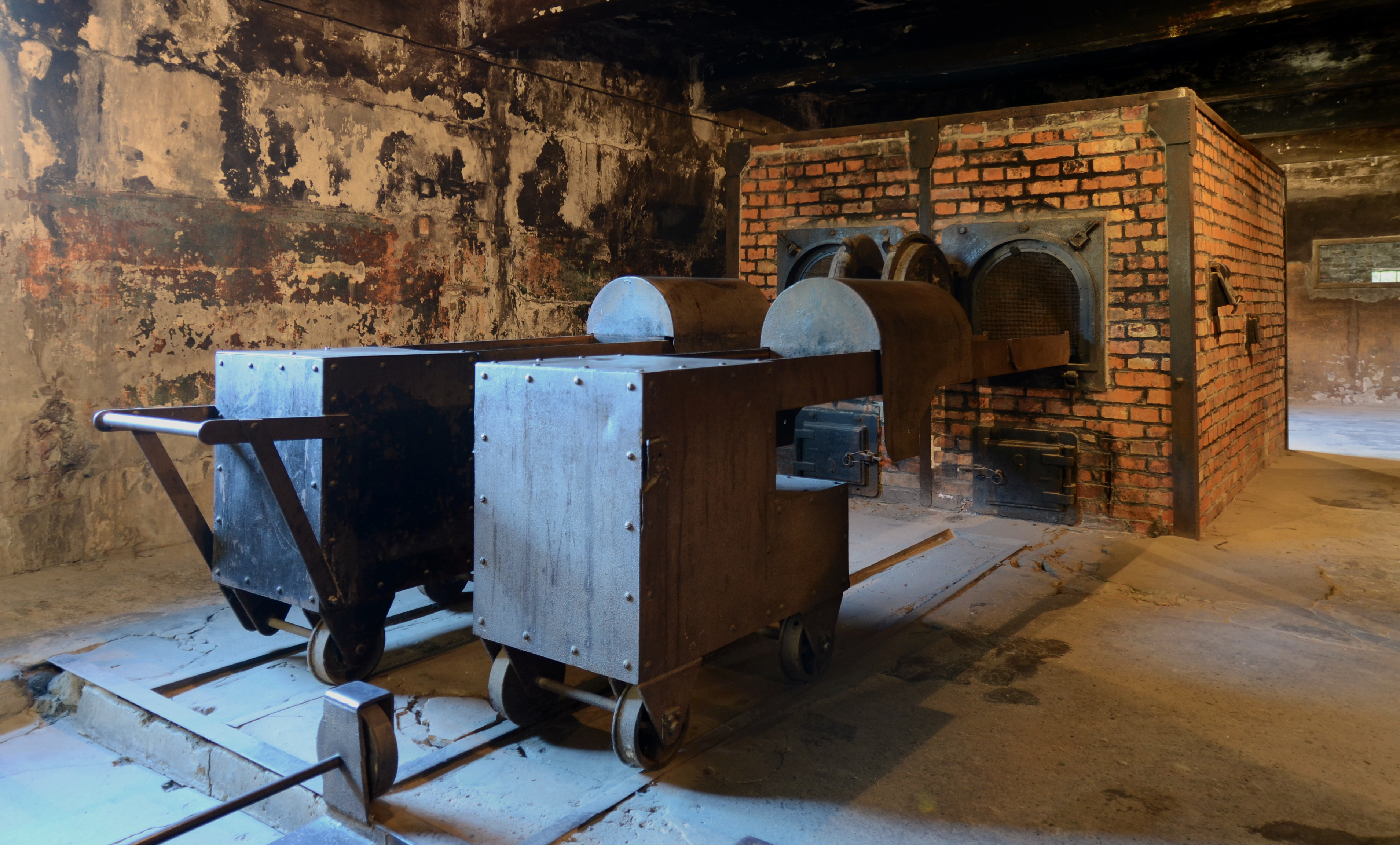 Crematorium at Auschwitz