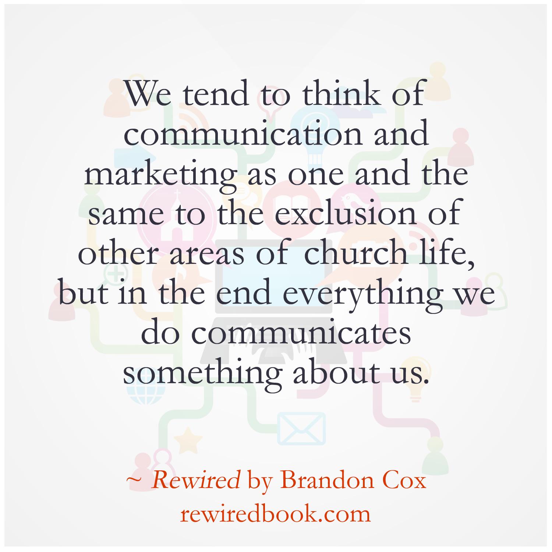 Communications In a Purpose Driven Church