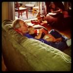 Grandpa Is Comfy!