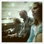 Ella Worshipping With Grandma & Grandpa at Saddleback Church