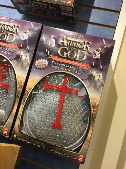 The Armor of God Playset