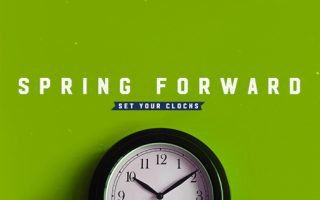 Spring Forward Graphic