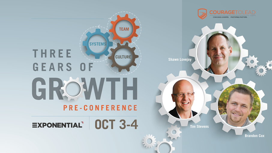 The Three Gears of Growth Pre-Conference at Exponential