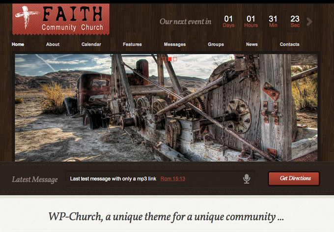 WPChurch Wordpress Theme