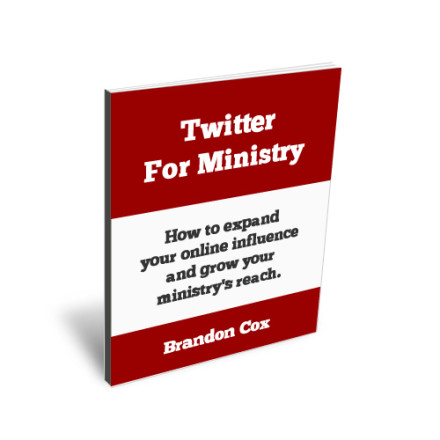 Mini-Book Release: Using Twitter for Ministry