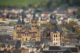 Tilt-shift Church