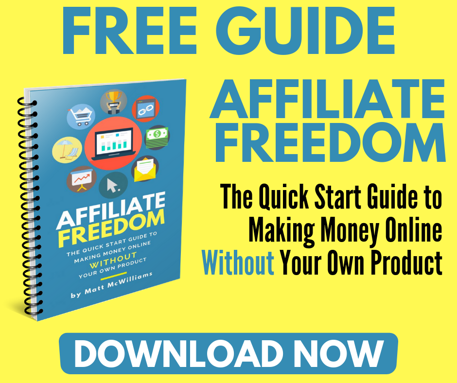 Affiliate Marketing with Matt McWilliams