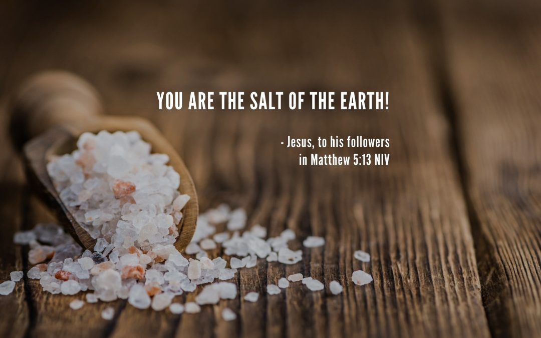 Be the Salt of the Earth