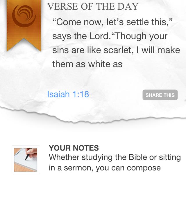 Bible Gateway iPhone App