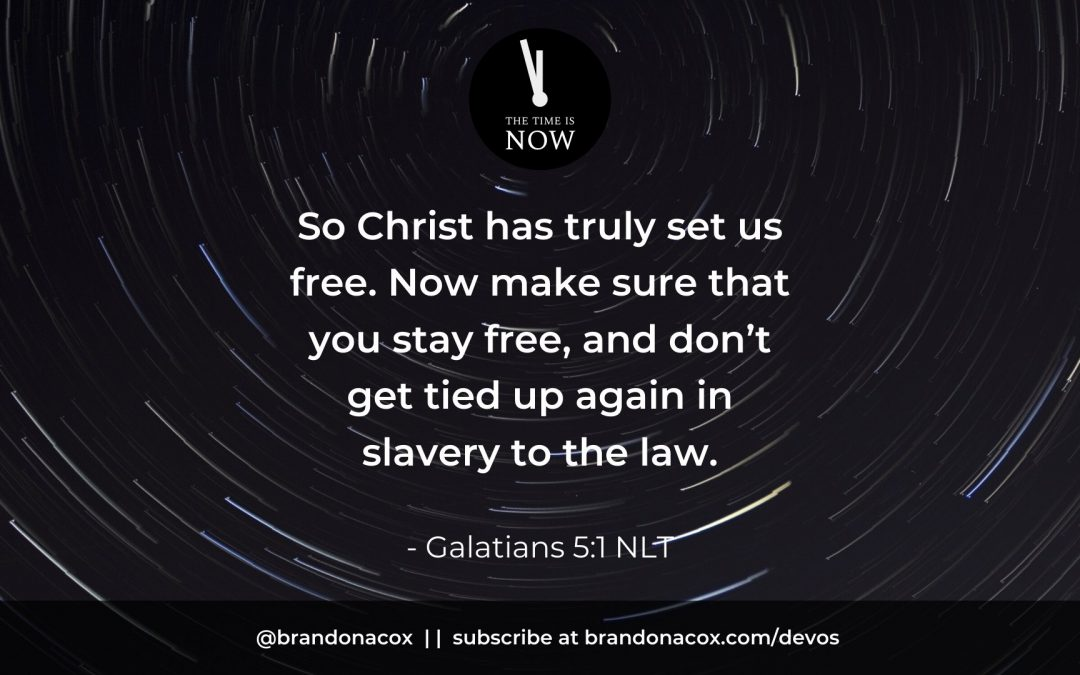 Breaking Free from the Bondage of Legalism