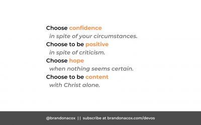 4 Attitudes You Can Choose Today