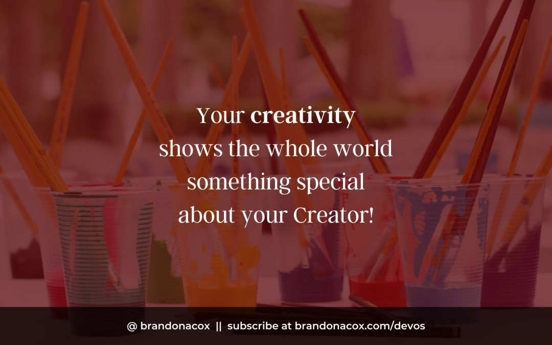 You were Created to Get Creative