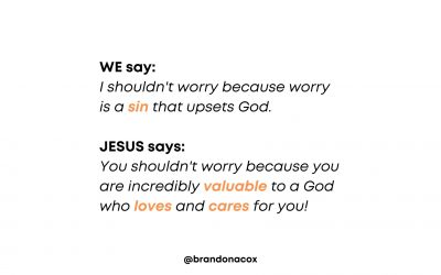 Jesus Sees Your Value, Even When You Don't