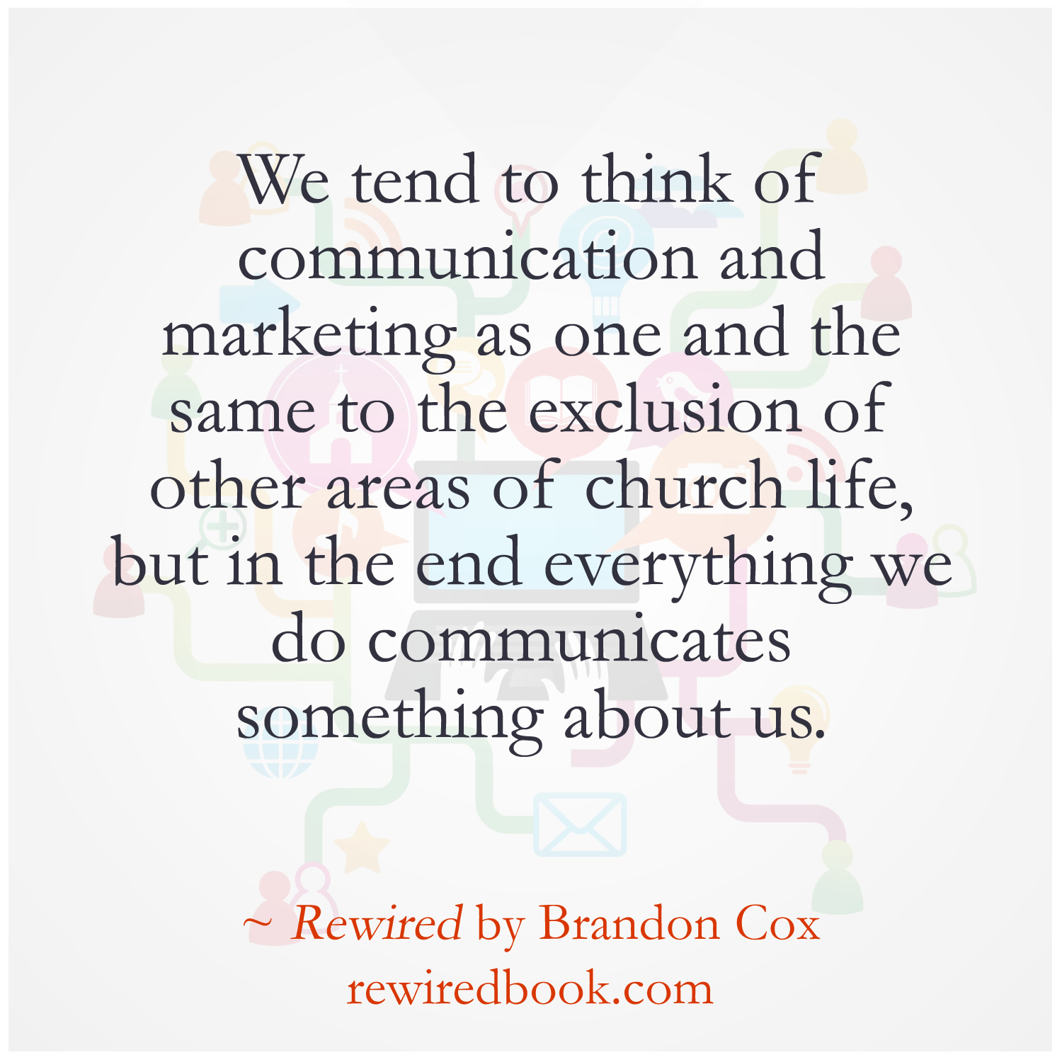 Communications In A Purpose Driven Church