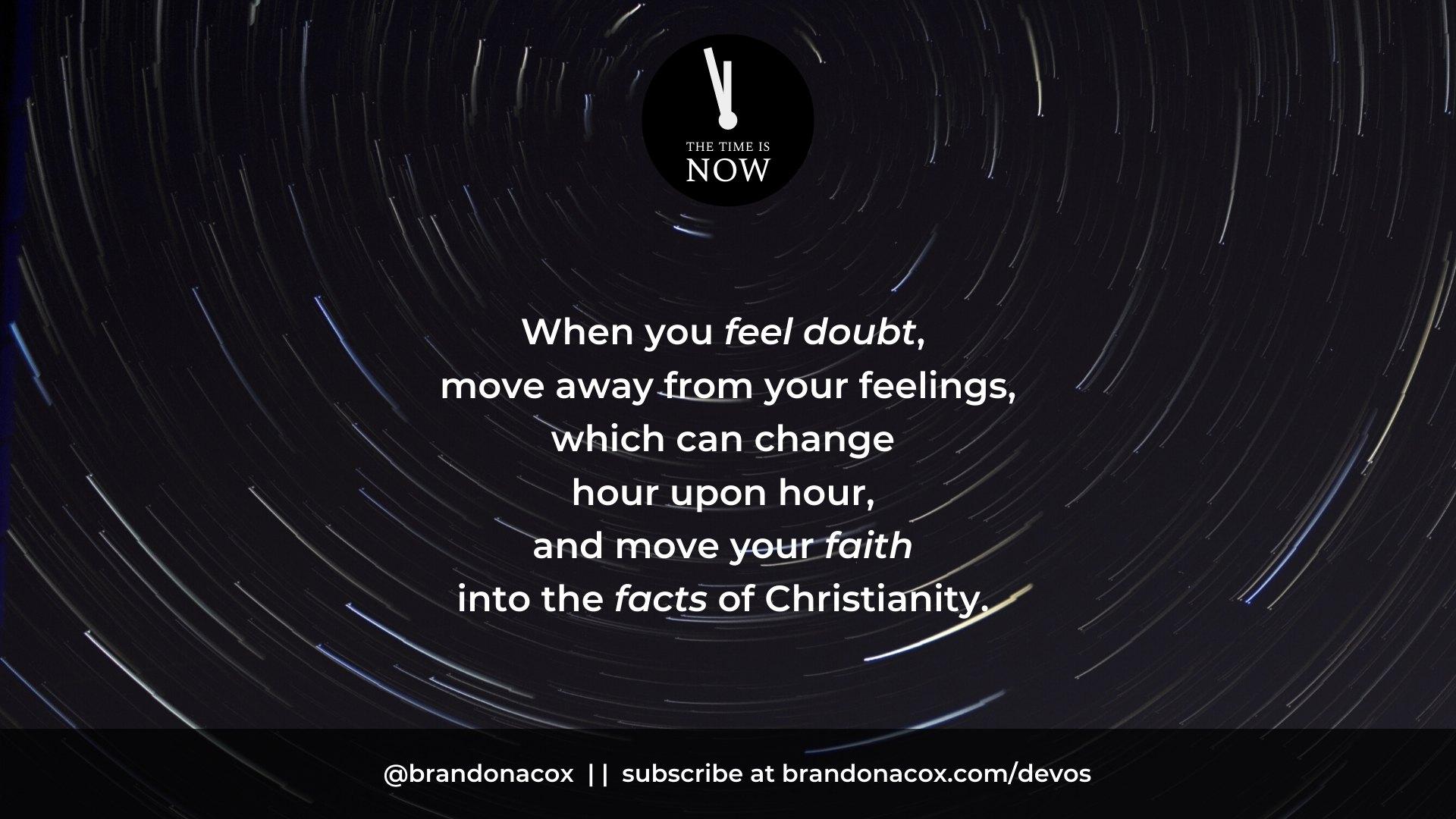 Feelings to Faith