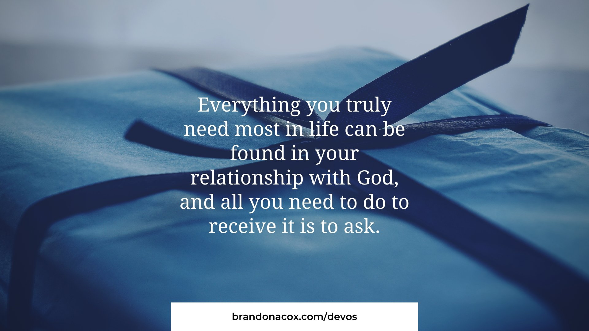 God Has What You need