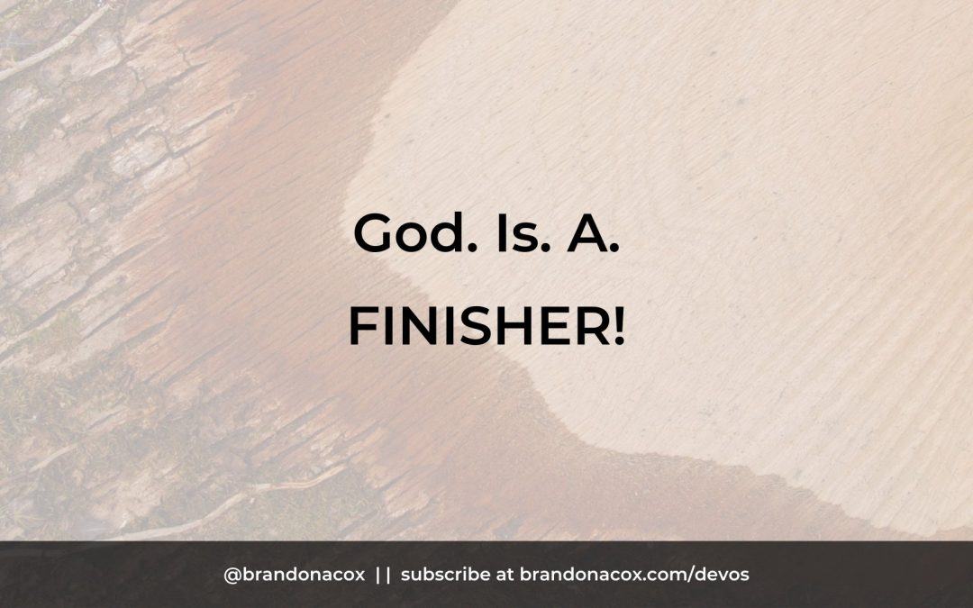God Is A Finisher