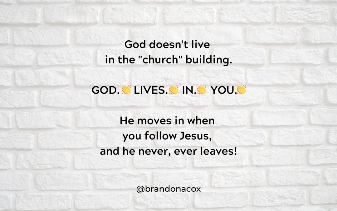 How God Built Himself a House
