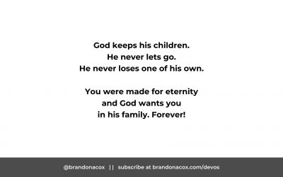 God Keeps His People Forever