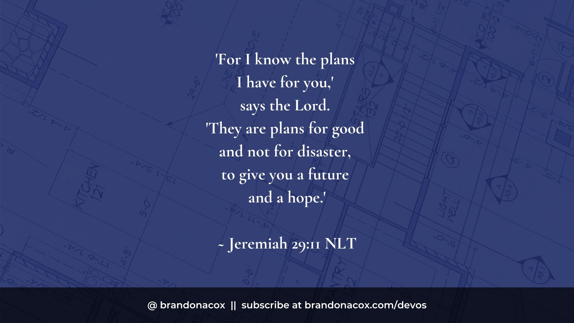 Gods Good Plans