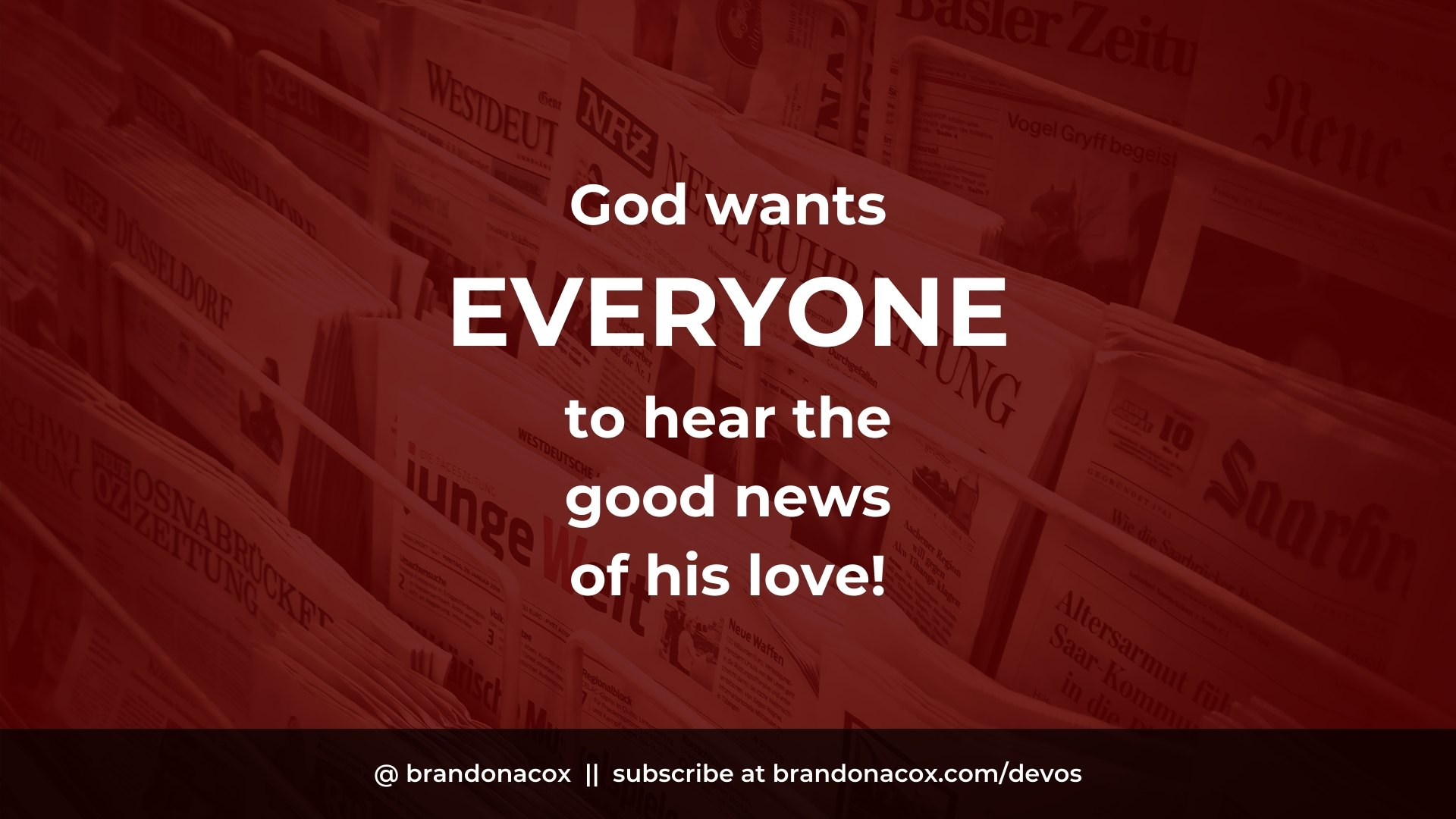 Hear Good News