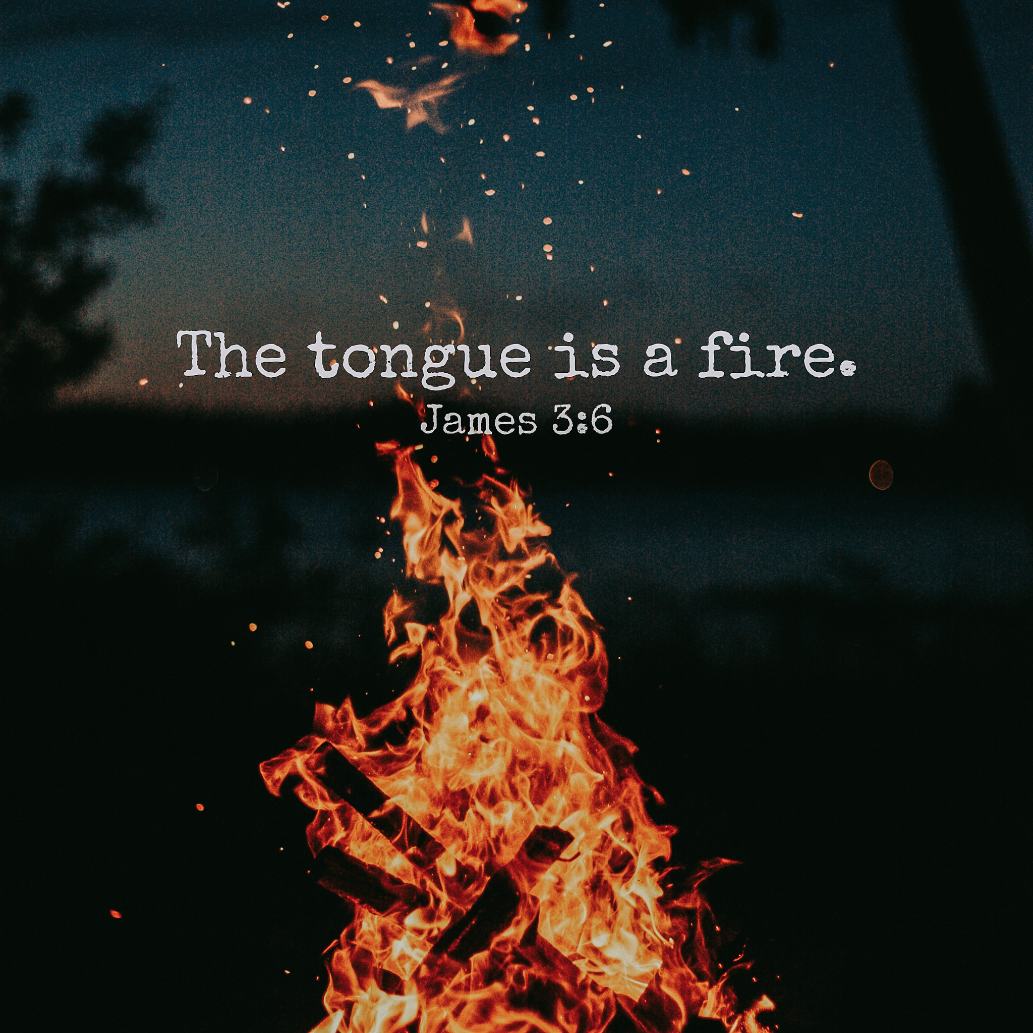 Tongue is a Fire