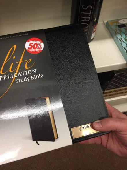 Misprinted Bibles