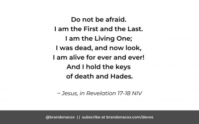 You Should Catch a Glimpse of Jesus as He is Now