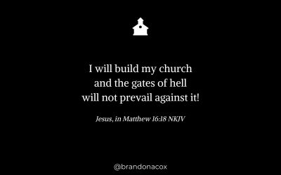 Jesus is Building His Church
