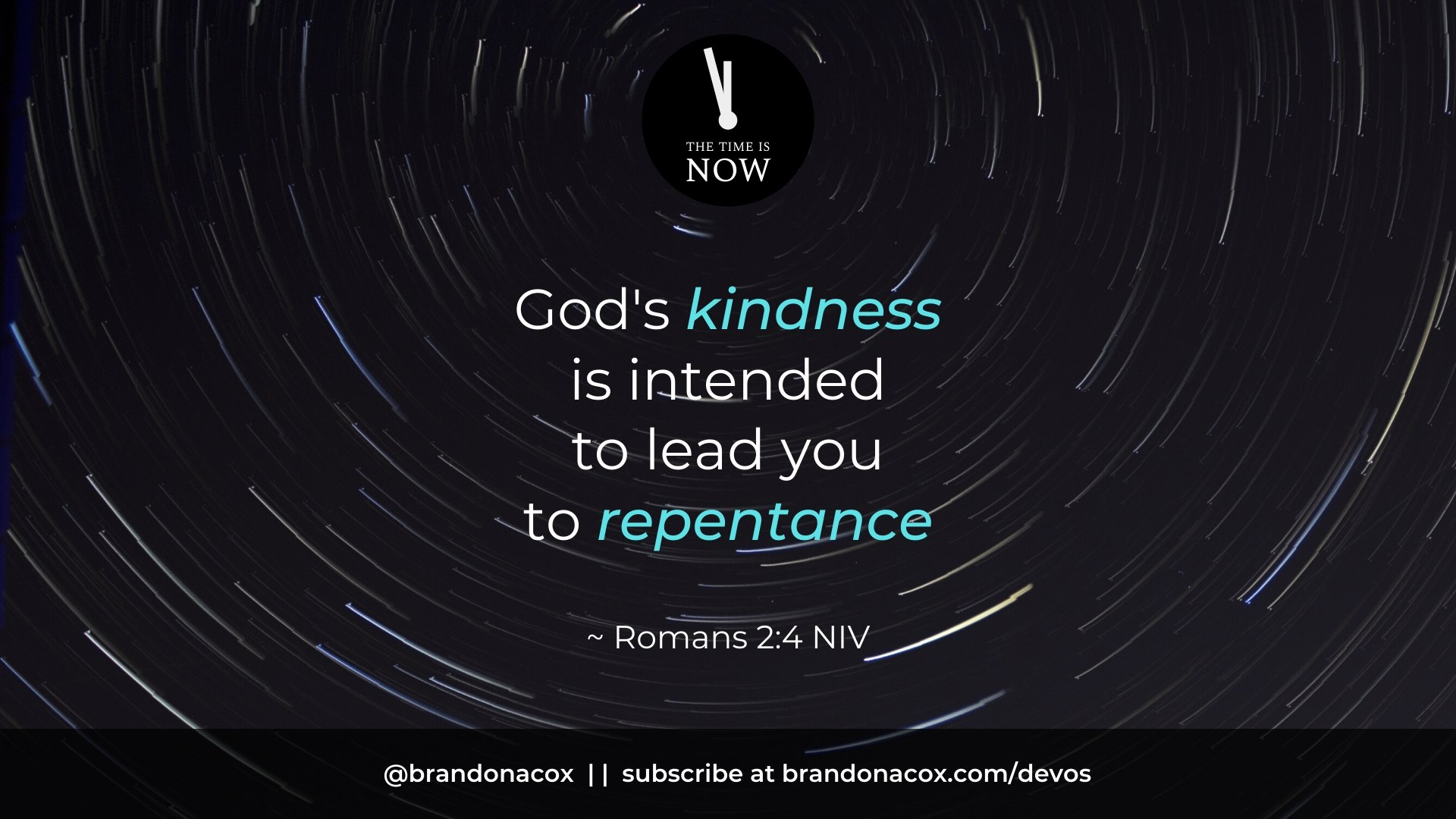 Kindness Repentance