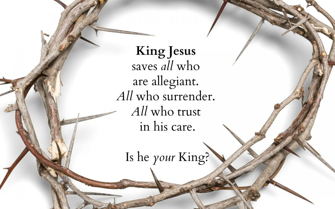 Good News: Jesus Has Been Enthroned as King