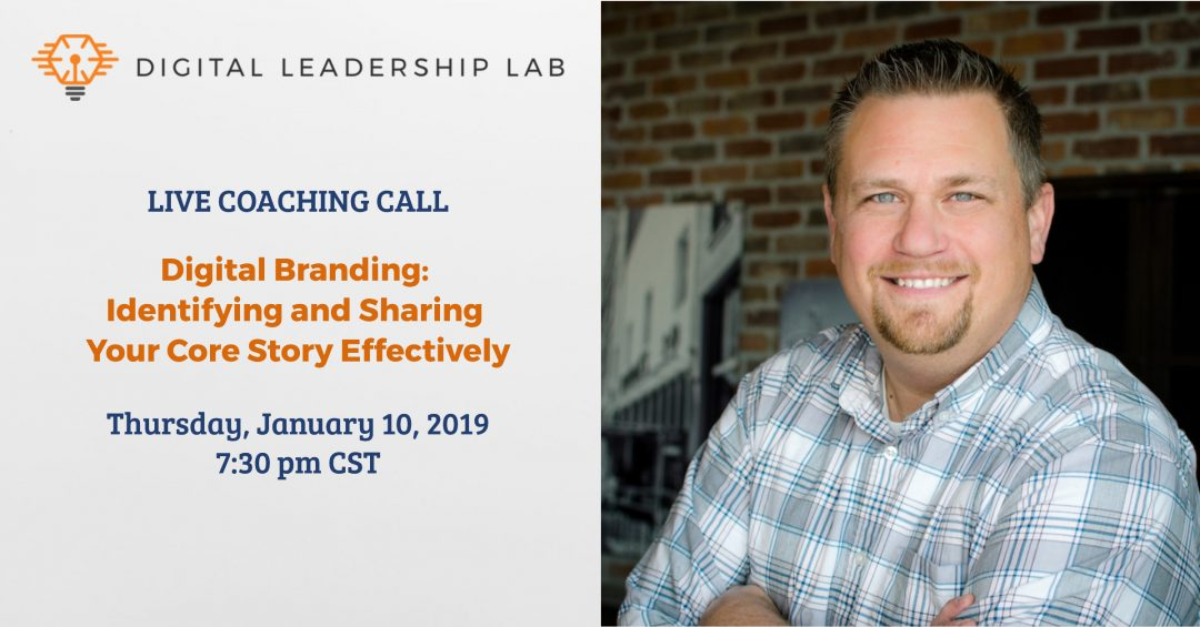 Live Coaching Call - Business - Digital Branding
