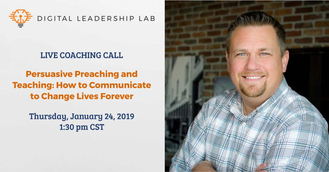 Live Coaching Call - Ministry - Preaching