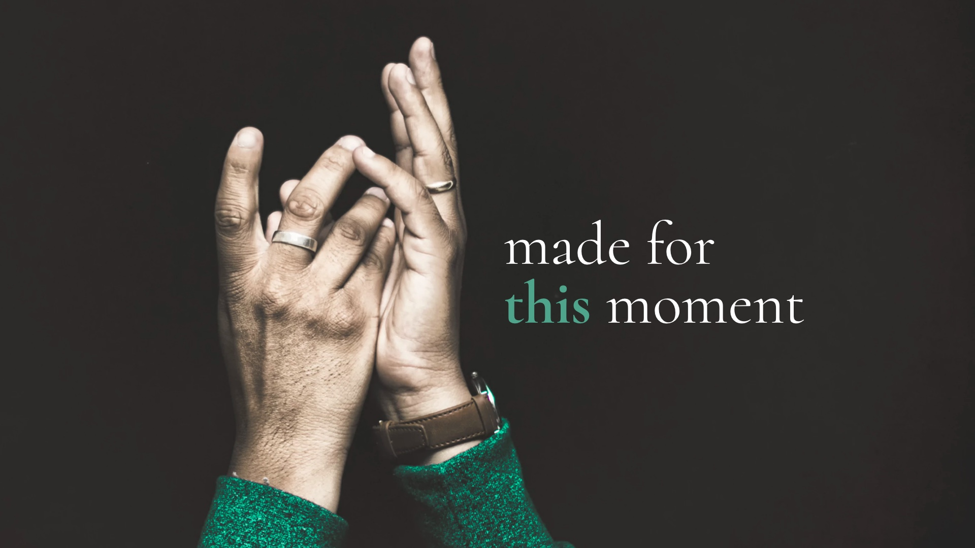 Sermon Series on Esther: Made for This Moment