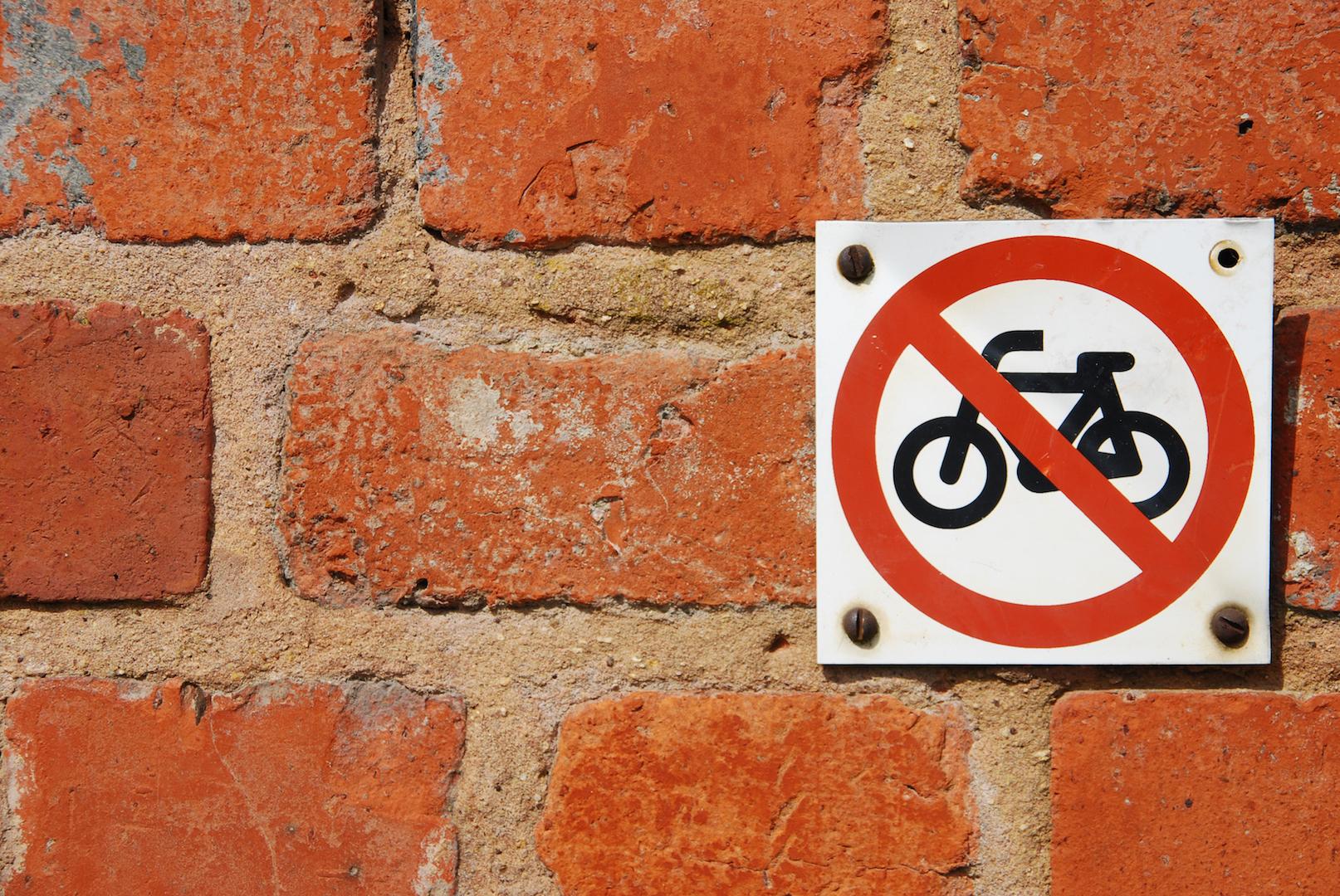 No Bikes