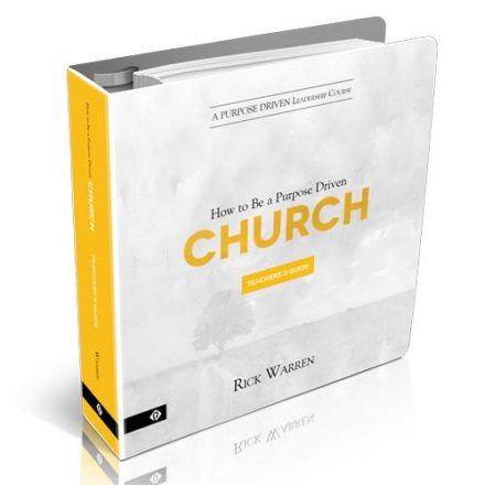 Purpose Driven Church Leadership Course