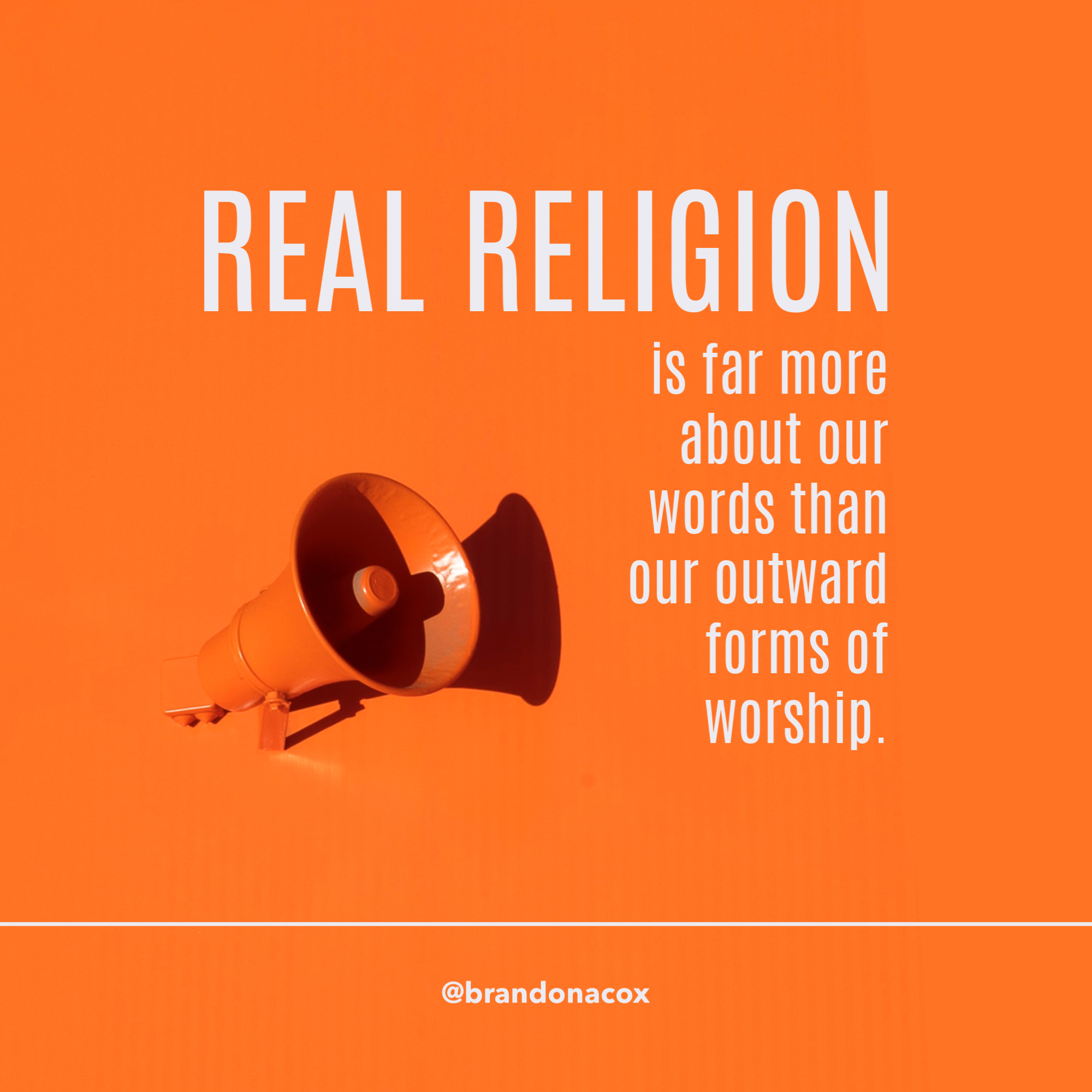 Real Religion