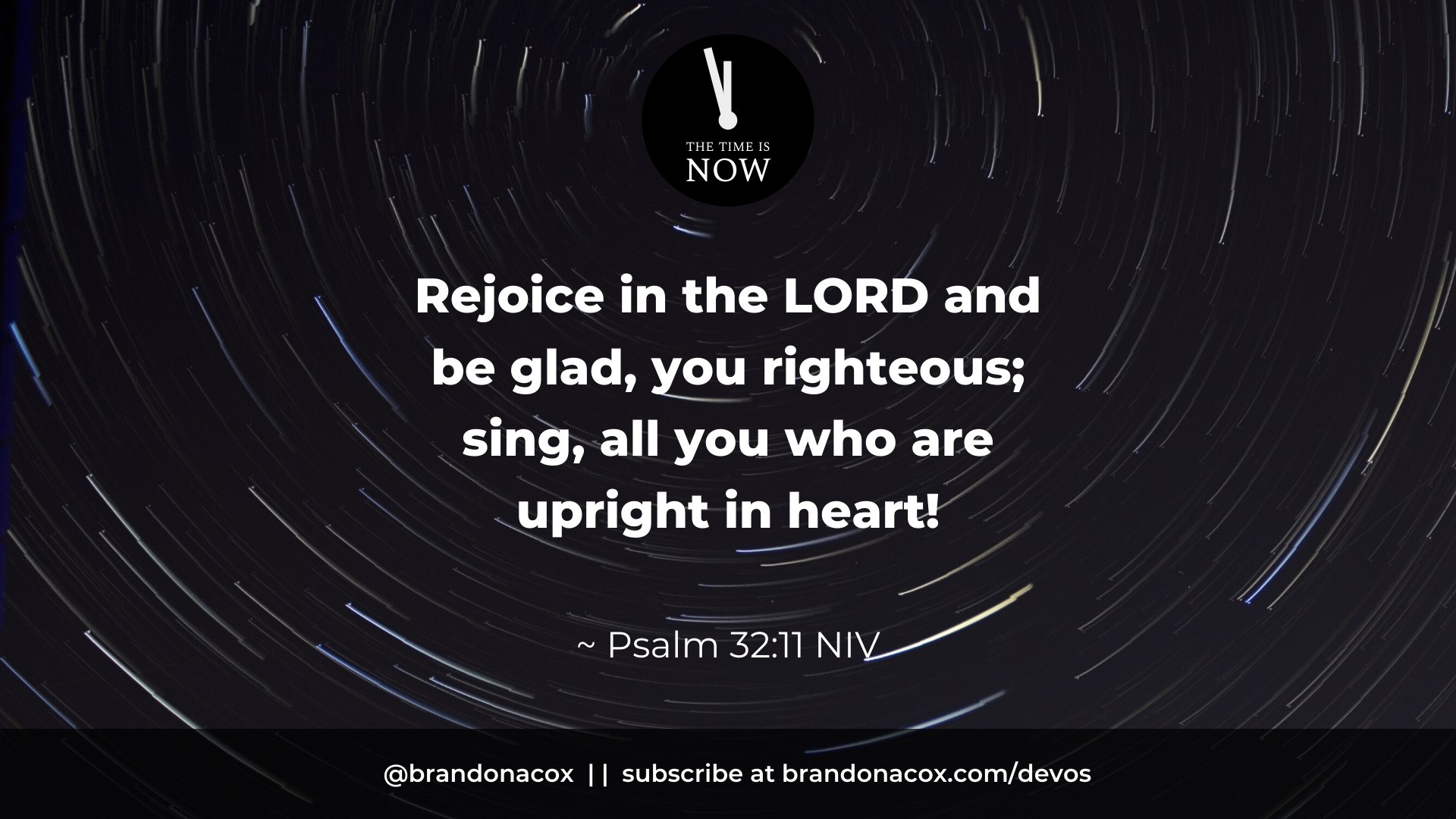 Rejoice in Relationship with God