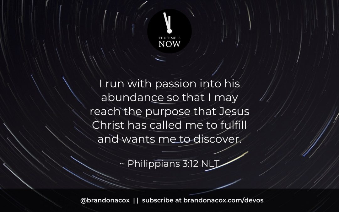 Running with Passion After God's Purpose