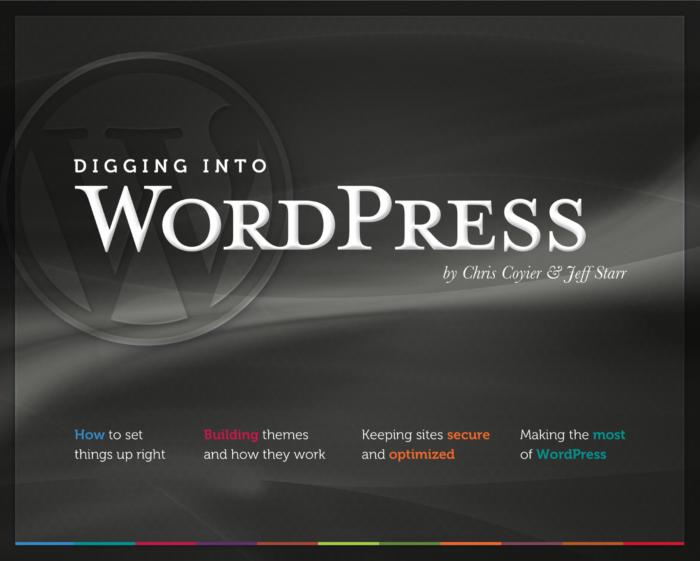 Book: Digging Into WordPress
