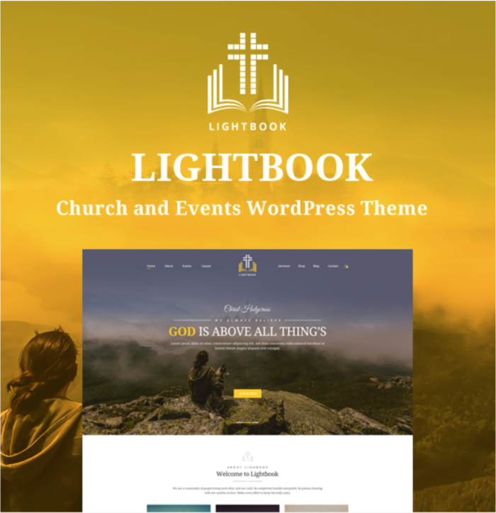 Wise Theme WordPress for Churches