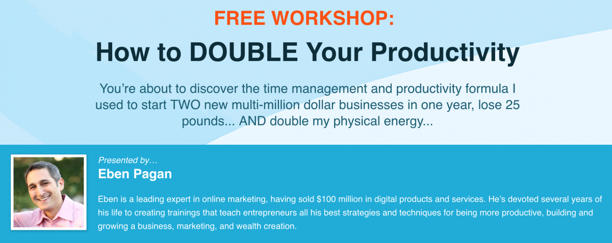 Double Your Productivity