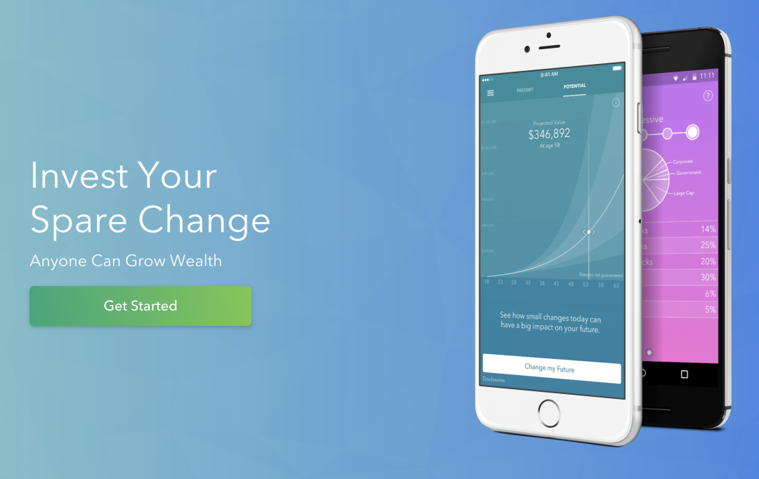 Acorns - Investing Pocket Change in a Savings Account