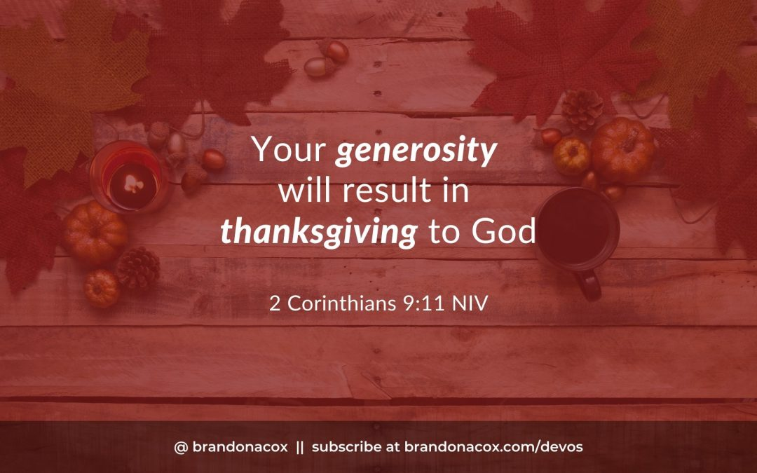 How to Lead More People into Giving Thanks to God