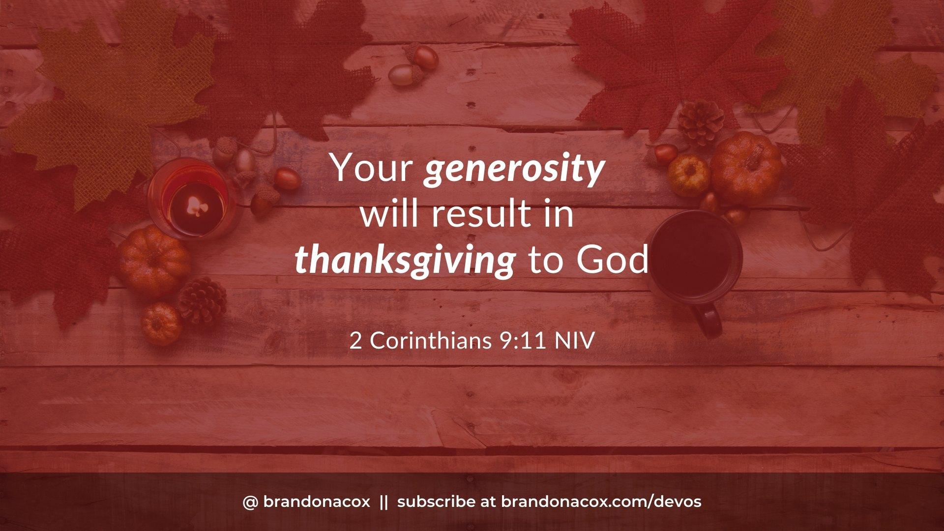 Shine Thanksgiving