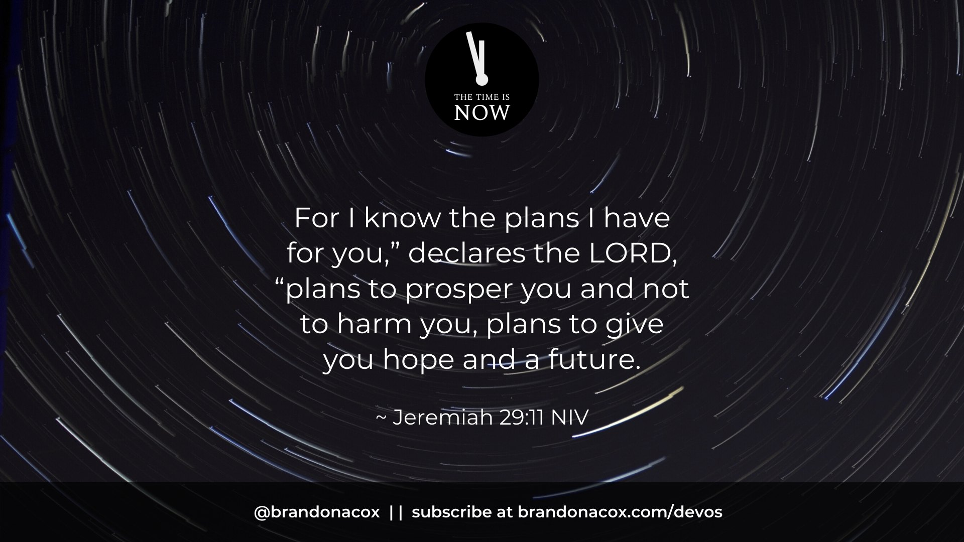 The Plans of God Jeremiah 29 11
